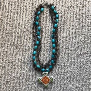 4 Strand Boho Chunky Necklace